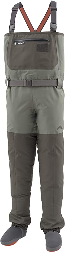 Simms Mens Freestone Waterproof Stockingfoot Chest Fishing Waders